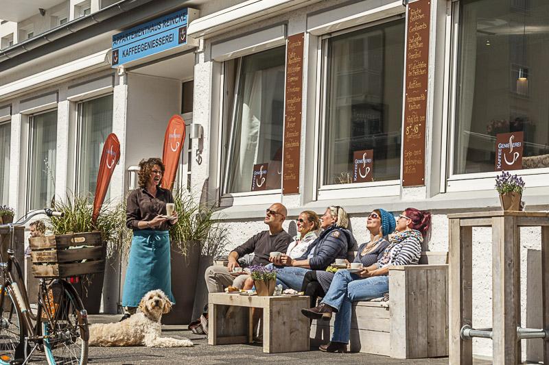 Café auf Norderney - Die Kaffeegeniesserei